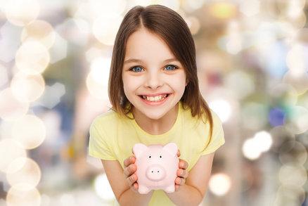 Co v pěti, co v deseti letech: Jak naučit děti hospodařit s penězi