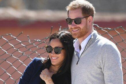 Princ Harry vtipkuje o těhotenství Meghan: Je to opravdu moje dítě?