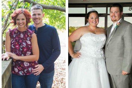 Sex je teď skvělý, říkají manželé, kteří spolu zhubli o víc než metrák! Jak to dokázali?