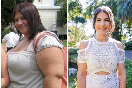 V 18 letech jí hrozil infarkt! Jak dokázala zhubnout na polovinu své váhy?