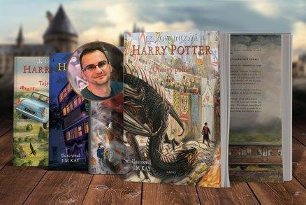 Ilustrovaný Harry Potter je pecka! Čtvrtý díl vás zavede na Turnaj tří kouzelníků