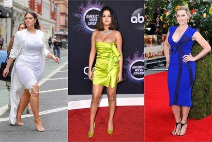 Celebrity, které milují své tělo, i když není dokonalé. Inspirujte se!