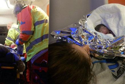 Péťa se narodil přímo na dálnici D5: Sanitka to do nemocnice už nestihla