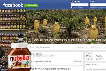 Facebookový protest Čechů proti palmovému oleji: Velké oči, žalostný výsledek