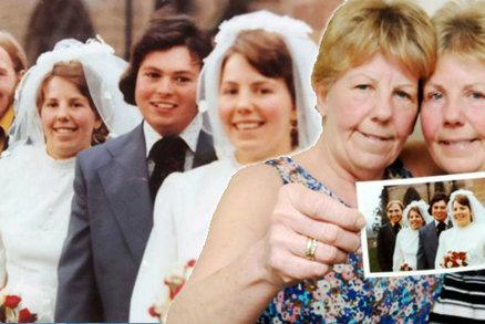 Osud umí být krutý! Dvojčata Lynda a Ann se v tentýž den vdávala, teď spolu pohřbí manžely