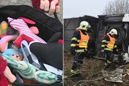 Děti jsme uklidnili plyšovými hračkami, vysvětloval policista od děsivé nehody autobusu