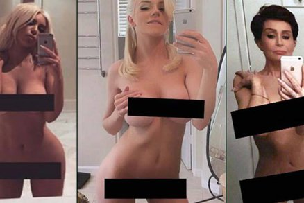 Parodie na nahou Kim Kardashian: Taky nemáme co na sebe, tvrdí další svlečené celebrity