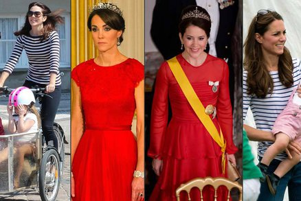 """Vévodkyně Kate má """"dvojnici"""": Opičí se po ní dánská princezna!"""
