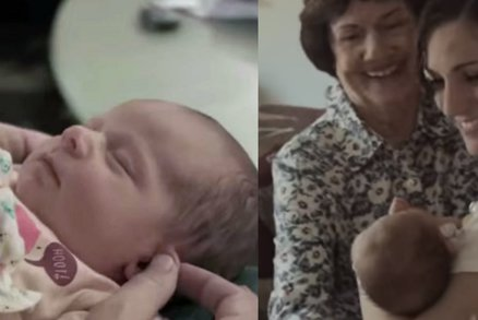 Takhle vypadá radost z miminka! Rodiče adoptovali holčičku a natočili dojemné video