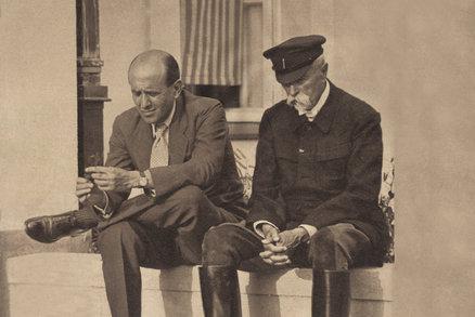 Masarykova pravnučka stopla zkoumání jeho DNA. Otec prezidenta zůstane nejistý