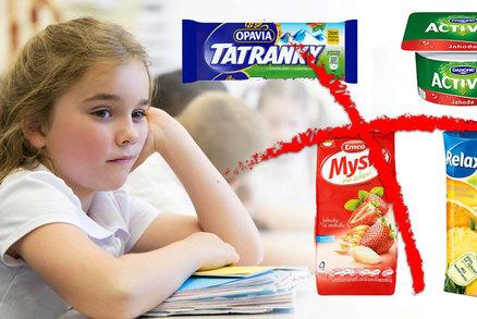 Tatranka, Lipánek i džus: Na tyto pochoutky mohou děti ve školách zapomenout