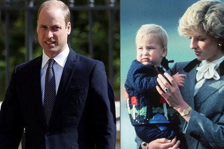 Princ William promluvil o smrti matky: I po 20 letech cítím šok, nikdy nezmizí