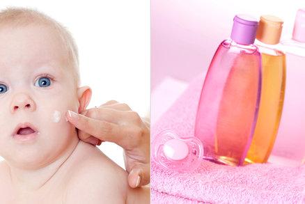 Kosmetiku pro děti vybírejte zvláště pečlivě: Pokožka »zraje« do 6 let