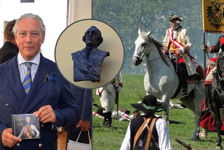 V Novém Jičíně slavili 300 let od narození generála Laudona: Přijeli i jeho potomci