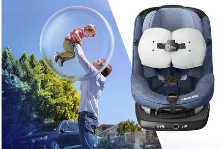 Mnohem bezpečnější: Na trhu je první autosedačka s vlastním airbagem