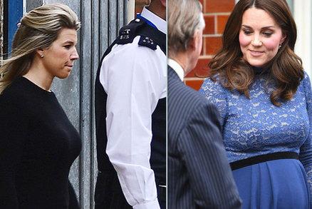 ŽIVĚ: Vévodkyně Kate porodila! Princátko jako první uvidí cizí žena. Kdo?