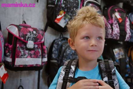 Testujeme s dětmi: Podle čeho vybrat školní batoh nebo aktovku?