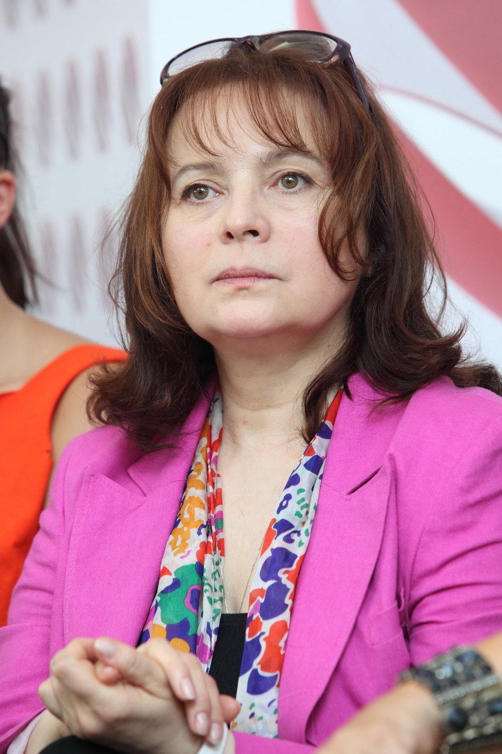 Libuše Šabránková je nyní v domácím léčení.