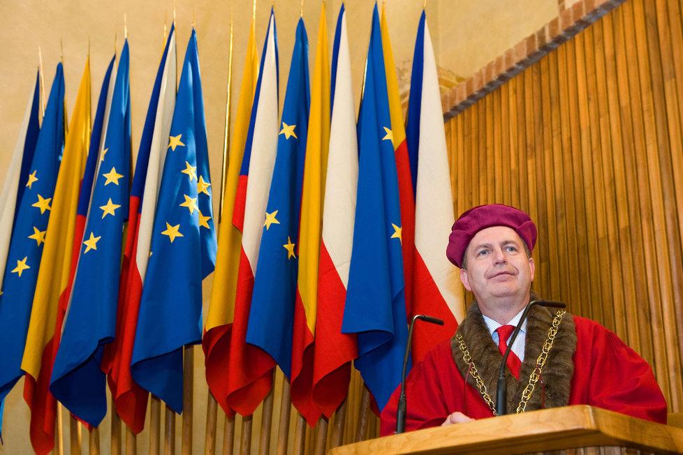Rektor UK, prof. Tomáš Zima