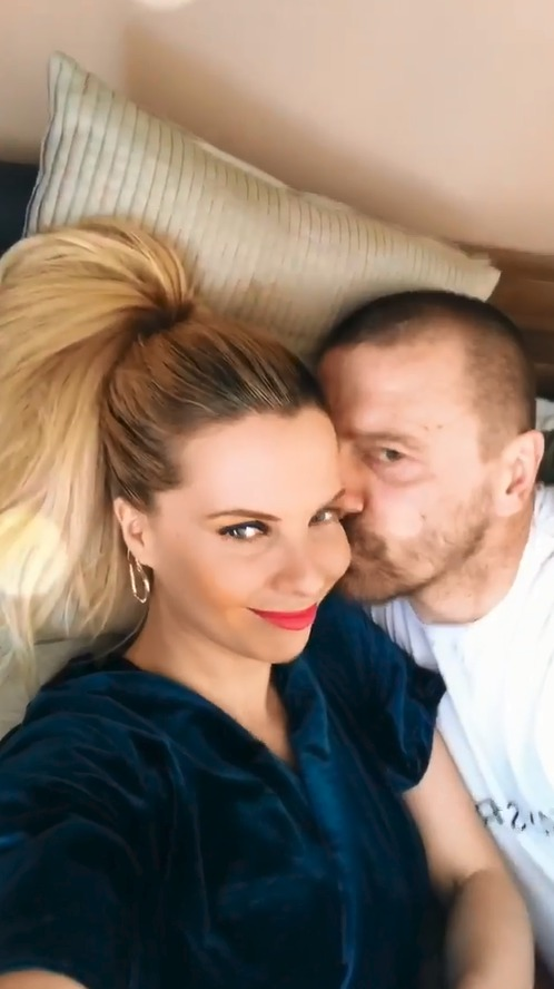 Kateřina Kristelová a Tomáš Řepka