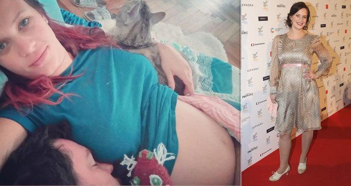 Těhotná herečka Leichtová: Bezesné noci kvůli miminku!