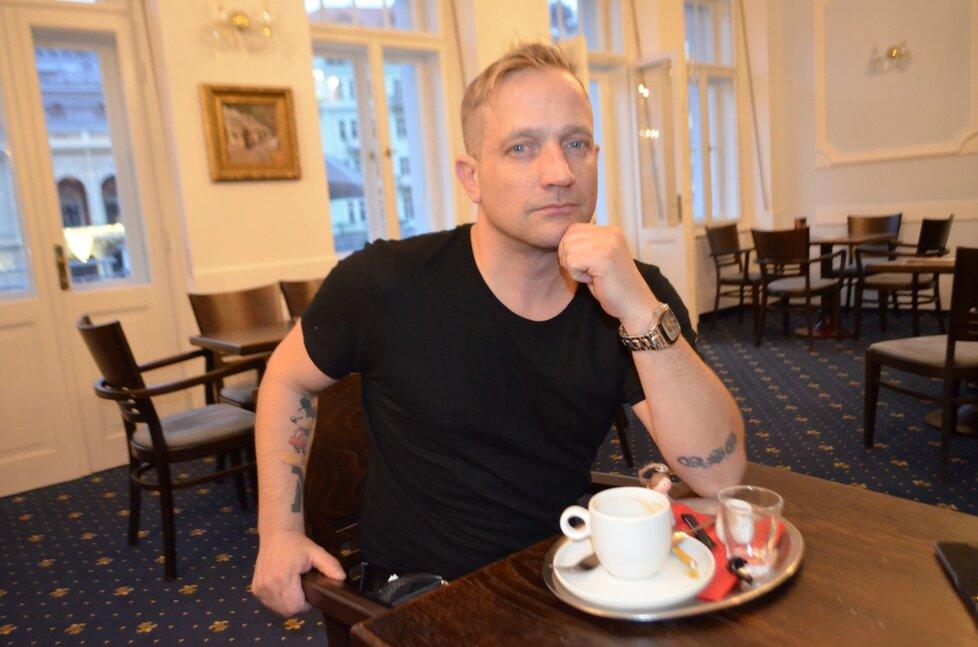 Martin Kocián ze skupiny Lunetic.