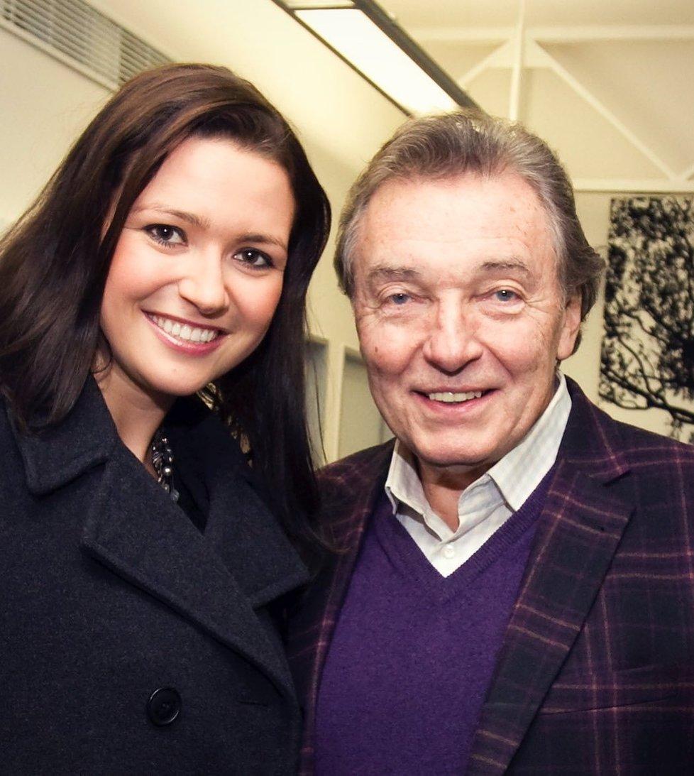 Karel Gott a Eva Čerešňáková