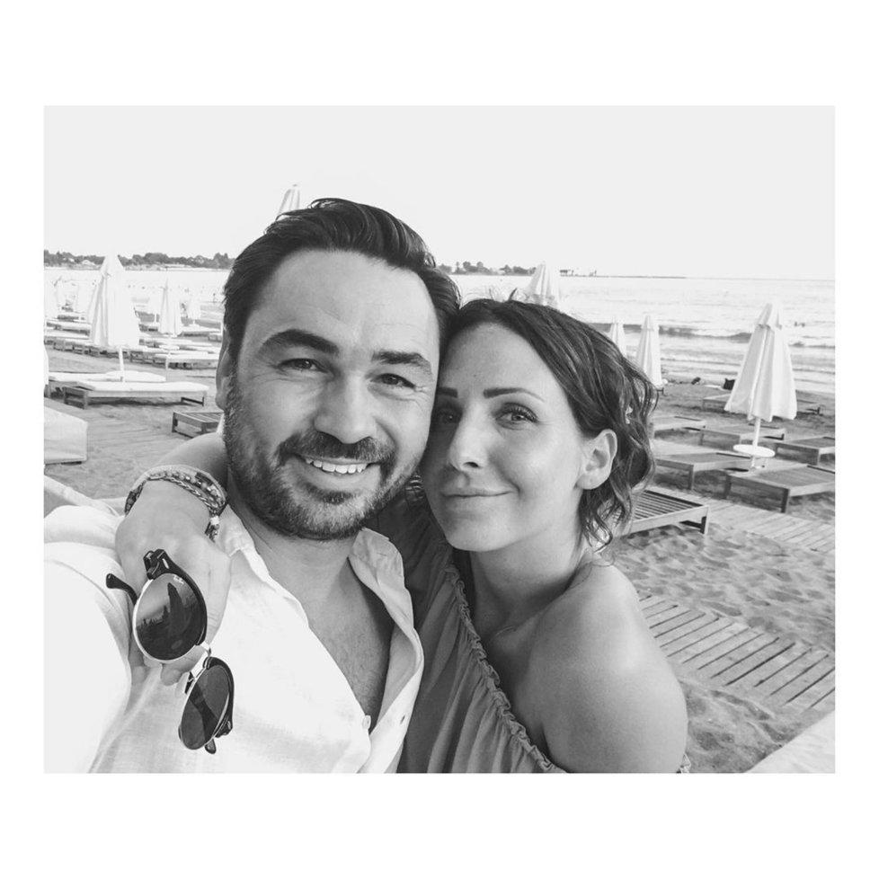Veronika Arichteva s manželem Biserem