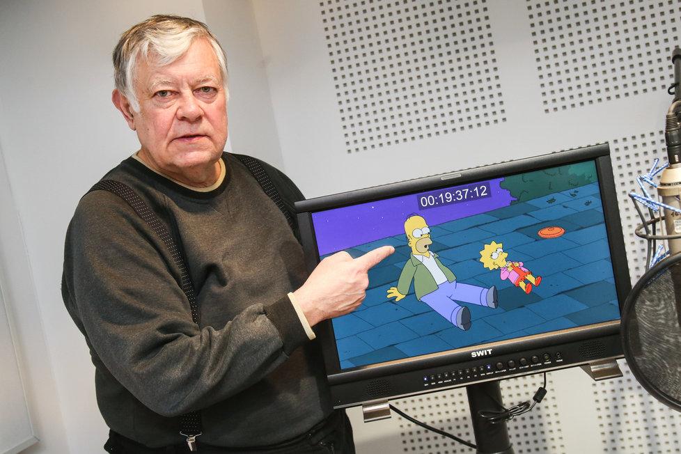 Vlastimil Zavřel alias Homer Simpson.