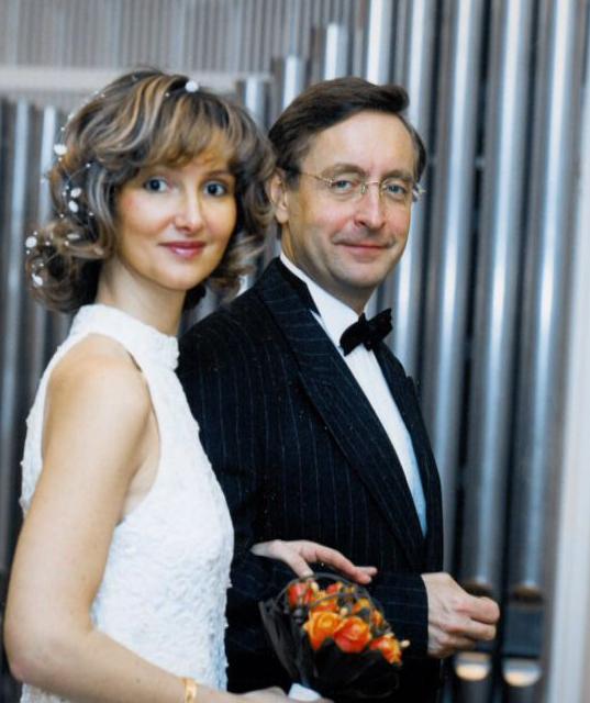 Svatební foto manželů Arenbergerových