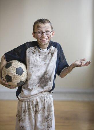 Fotbalový zápas dokáže s vašeho potomka změnit k nepoznání.