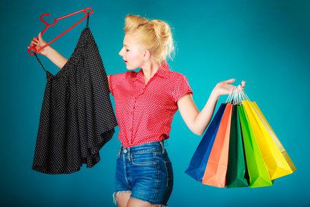 Žena nákupy