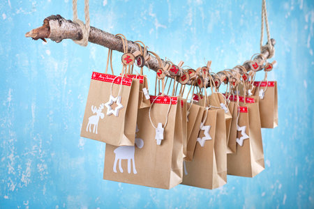 adventní kalendář, domácí výroba, tipy