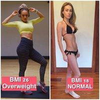 Podle BMI má nadváhu, přitom vypadá skvěle! Líp než vyhublá