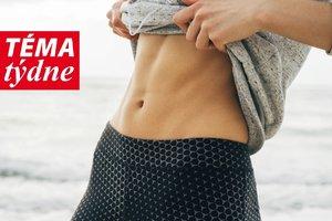 Toužíte po plochém břichu? Naučte se těchto pár snadných triků!