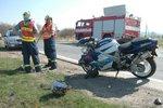 Šílený hazard: Motorkář se řítil po dálnici D2 v protisměru, hledal ztracené doklady!