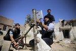 Rebelové v Sýrii používají iPad k míření minometem!