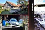 Stodola smrti v Záhornici: Muže a ženu popravili kulkou do týla