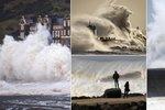 Extrémní bouře v Británii si vyžádala 7 mrtvých: Vlny vysoké jako domy!