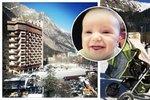Dcera Šiškové hazarduje: S tříměsíčním synem vyrazila na Kavkaz