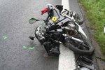 Smrt na motorce i bicyklu: Při nehodách v Jihočeském kraji zemřeli dva muži