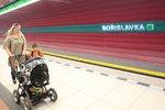 Metro na Bořislavce nezastavovalo: Mohly za to »rozbité« eskalátory