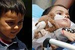 Malý bojovník s rakovinou, který se léčil v Česku: Ashya je zřejmě zcela vyléčený