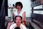 Rodina Davida: Manželka Marcela, Michal David, dcera Klárka a dcera Míša, která zemřela na leukémii