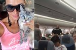 Mezinárodní ostuda: Češka do letadla propašovala kočku a napadla letušky! Kvůli ní vzlétly i stíhačky