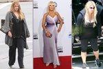 8 slavných žen, které marně bojují s váhou!