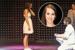 Hvězda ULICE Doubravová: Žádost o ruku přímo na jevišti! Její reakci zachytila kamera