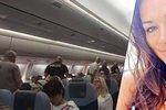 Česká modelka, kvůli které nouzově přistálo letadlo: Za všechno může můj stalker!