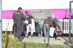 Běženci chtěli uniknout převozu do Drahonic. Nahlásili muslimskou svatbu