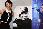 Nečekané proměny Terezy Kostkové: Černá Audrey a bílá Marilyn